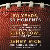 50 Years, 50 Moments by  Jerry Rice audiobook