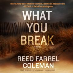 What You Break by Reed Farrel Coleman audiobook