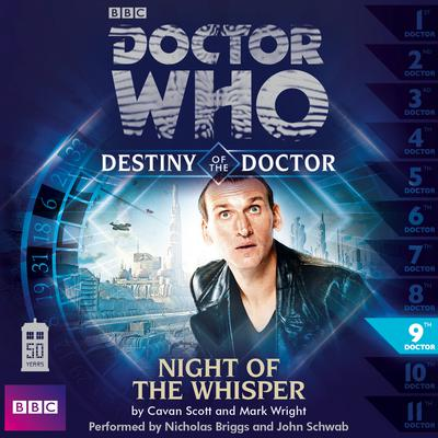 Doctor Who: Night of the Whisper by Cavan Scott audiobook