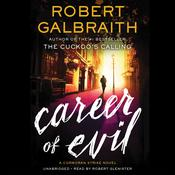 Career of Evil by  Robert Galbraith audiobook
