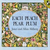 Each Peach Pear Plum by  Allan Ahlberg audiobook