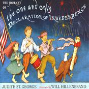 The Journey of the One and Only Declaration of Independence  by  Judith St. George audiobook