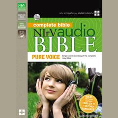 NIrV Audio Bible, Pure Voice by Zondervan audiobook