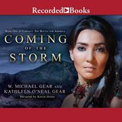 Coming of the Storm by  Kathleen O'Neal Gear audiobook