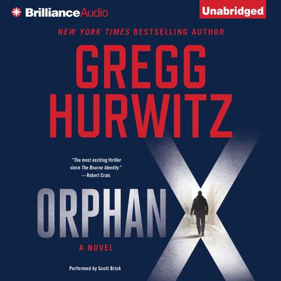 Orphan X by Gregg Hurwitz audiobook
