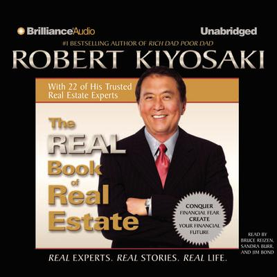 The Real Book of Real Estate by Robert T. Kiyosaki audiobook