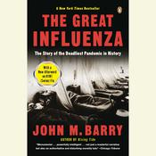 The Great Influenza by  John M. Barry audiobook