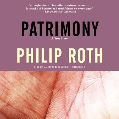 Patrimony by Philip Roth audiobook