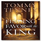 Finding Favor With the King by  Tommy Tenney audiobook