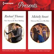 New Year at the Boss' Bidding & Theseus Discovers His Heir by  Michelle Smart audiobook