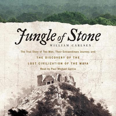 Jungle of Stone by William Carlsen audiobook