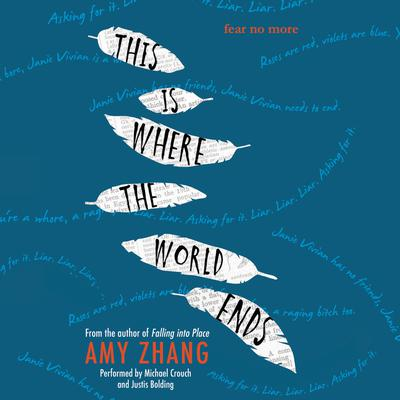 This Is Where the World Ends by Amy Zhang audiobook