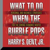 What to Do When the Bubble Pops by  Harry S. Dent Jr. audiobook