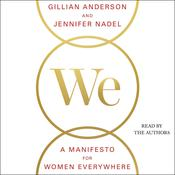 We: A Manifesto for Women Everywhere by  Gillian Anderson audiobook