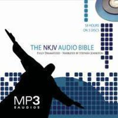NKJV Dramatized Audio Bible by Stephen Johnston audiobook