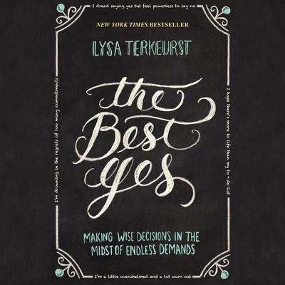The Best Yes by Lysa TerKeurst audiobook