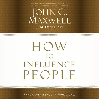How to Influence People by John C. Maxwell audiobook