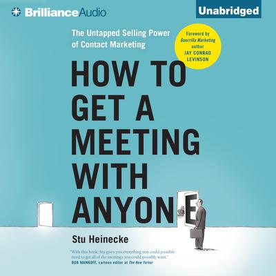 How to Get a Meeting with Anyone by Stu Heinecke audiobook