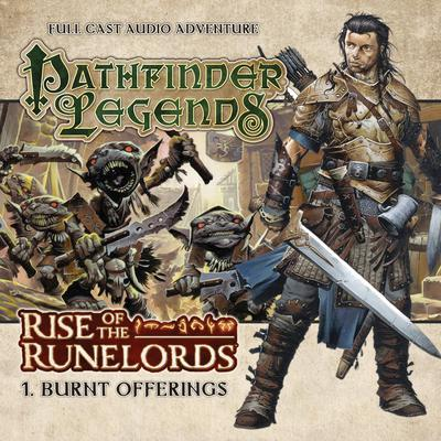 Rise of the Runelords 1.1 Burnt Offerings by Mark Wright audiobook