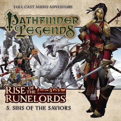 Rise of the Runelords: Sins of the Saviors by Mark Wright audiobook