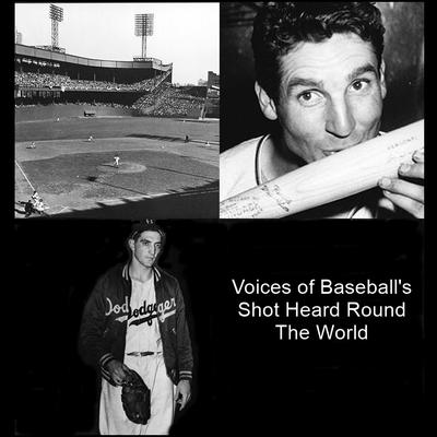 Voices of Baseball's Shot Heard 'round the World by Listen & Live Audio audiobook
