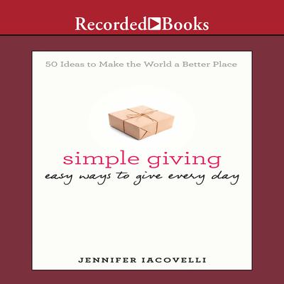 Simple Giving by Jennifer Iacovelli audiobook