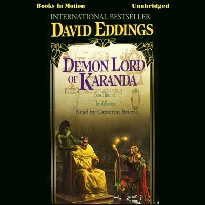 Demon Lord of Karanda by David Eddings audiobook
