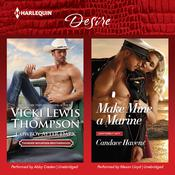 Cowboy after Dark & Make Mine a Marine by  Vicki Lewis Thompson audiobook