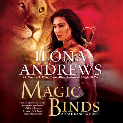Magic Binds by Ilona Andrews audiobook