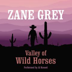 Valley of Wild Horses by Zane Grey audiobook