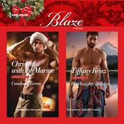Christmas with the Marine & Her Naughty Holiday by  Candace Havens audiobook