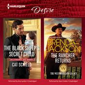 The Black Sheep's Secret Child & The Rancher Returns by  Brenda Jackson audiobook