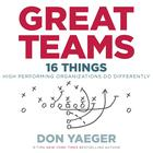 Great Teams by Don Yaeger