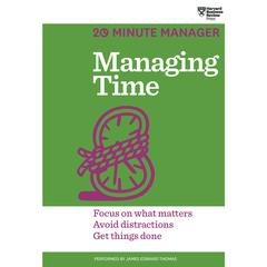 Managing Time by Harvard Business Review audiobook