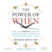 The Power of When by  Mehmet C. Oz MD audiobook