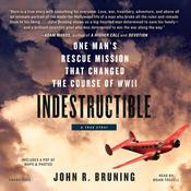 Indestructible by  John R. Bruning audiobook