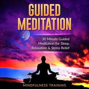 Guided Meditation: 30 Minute Guided Meditation for Sleep, Relaxation, & Stress Relief (Deep Sleep Self Hypnosis, Positive Law of Attraction Affirmations, Overcome Anxiety & Panic Attacks Techniques) by  Mindfulness Training audiobook