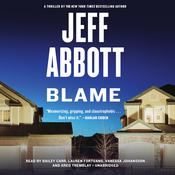 Blame by  Jeff Abbott audiobook