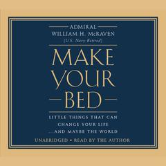 Make Your Bed by William H. McRaven audiobook