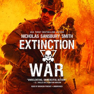 Extinction War by Nicholas Sansbury Smith audiobook