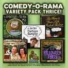 Comedy-O-Rama Variety Pack Thrice by Joe Bevilacqua, Lorie Kellogg, Pedro Pablo Sacristán