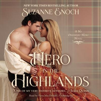 Hero in the Highlands by Suzanne Enoch audiobook