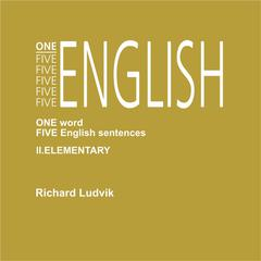 One Five English II Elementary by Richard Ludvik audiobook