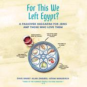 For This We Left Egypt? by  Adam Mansbach audiobook