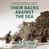Their Backs against the Sea by  Bill Sloan audiobook