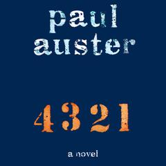 4 3 2 1 by Paul Auster audiobook