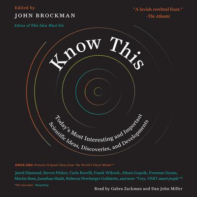 Know This by John Brockman audiobook