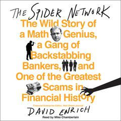The Spider Network by David Enrich audiobook