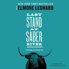 Last Stand at Saber River by Elmore Leonard audiobook