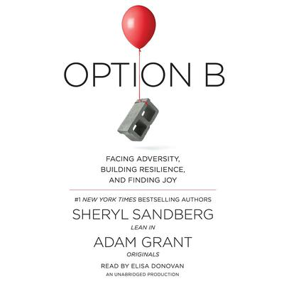 Option B by Sheryl Sandberg audiobook